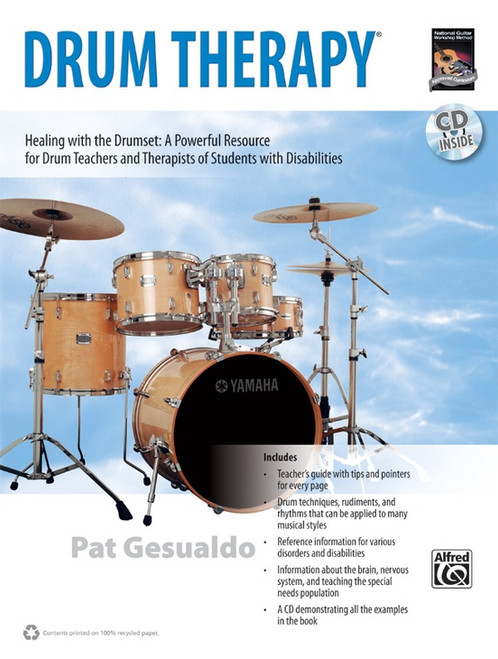 Drum Therapy by Pat Gesualdo (Book/CD Set)
