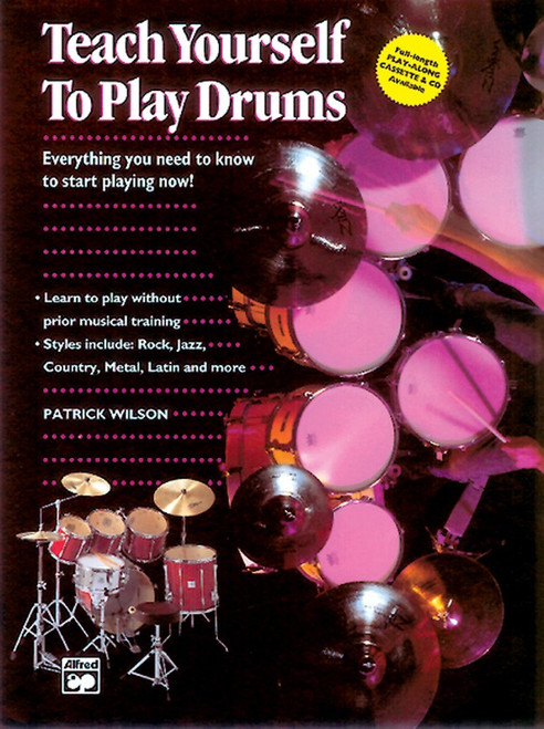 Teach Yourself to Play Drums by Patrick Wilson (Book / Online Audio Set)