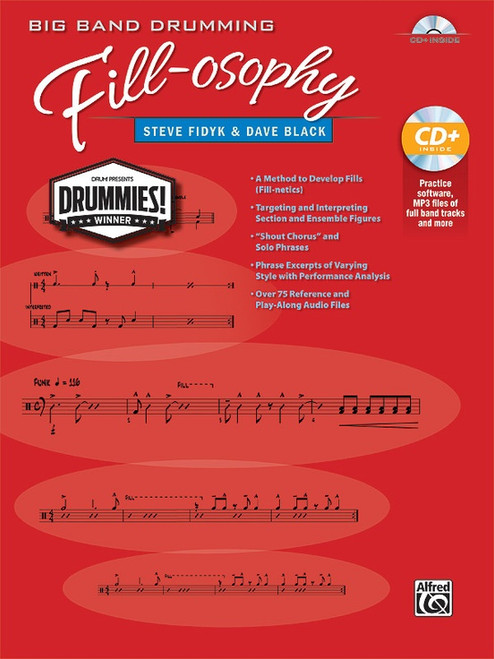 Big Band Drumming Fill-osophy by Steve Fidyk & Dave Black (Book/CD Set)