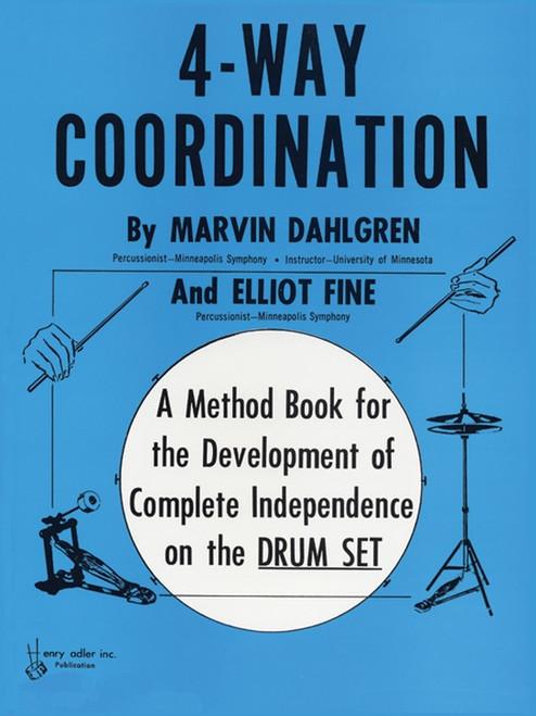 4-Way Coordination for Drumset by Marvin Dahlgren & Elliot Fine