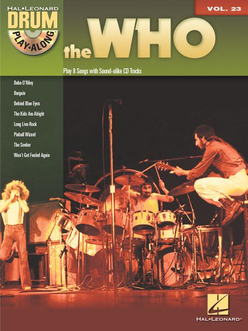 Hal Leonard Drum Play-Along Vol. 23 - The Who (Book/CD Set)