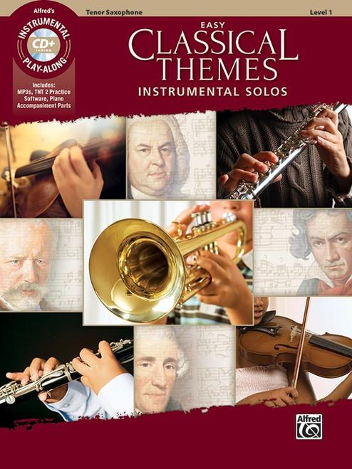 Easy Classical Themes - Tenor Sax Book & CD