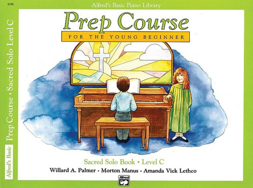 Alfred's Basic Piano Library Prep Course for the Young Beginner - Sacred Solo Book, Level C