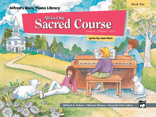 Alfred's Basic Piano Library: All-in-One Sacred Course, Book 1