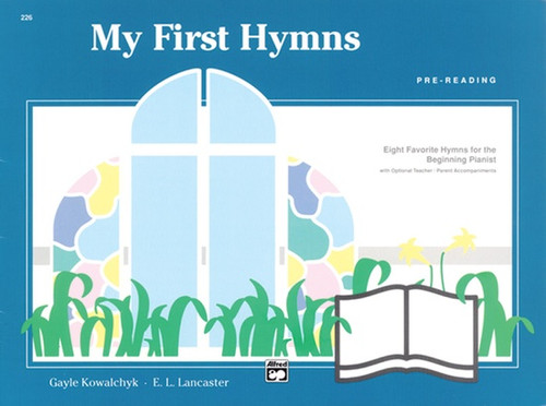 My First Hymns - Pre-Reading Level Piano