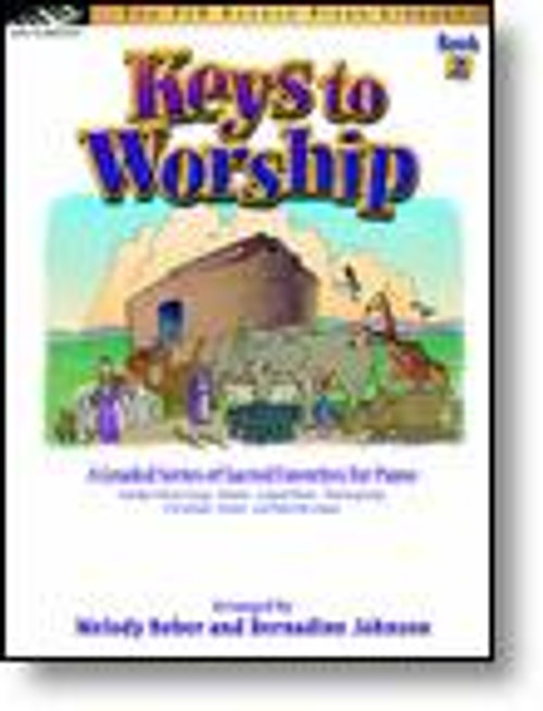 The FJH Sacred Piano Library - Keys to Worship, Book 2 for Five Finger Piano