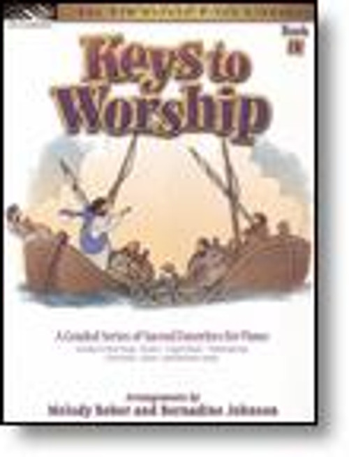 The FJH Sacred Piano Library - Keys to Worship, Book 3 for Five Finger Piano