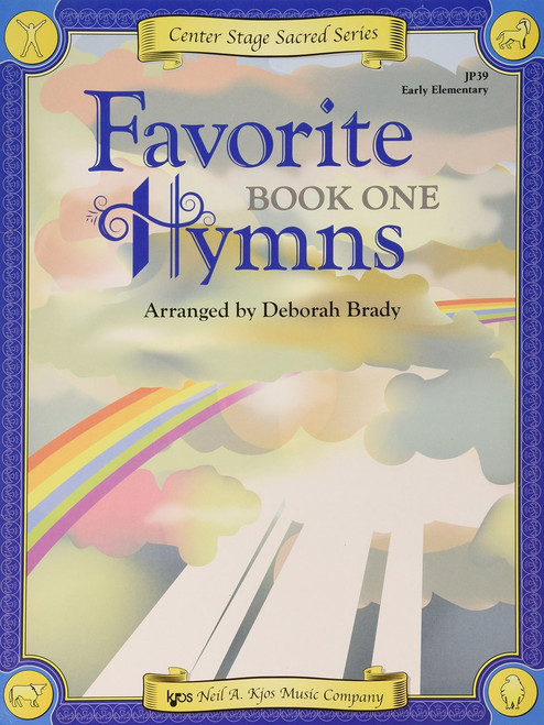 Center Stage Sacred Series - Favorite Hymns, Book 1 for Big-Note Piano