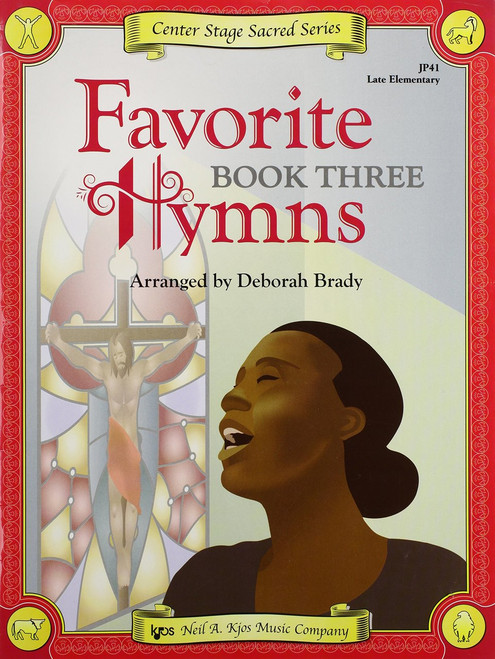 Center Stage Sacred Series - Favorite Hymns, Book 3 for Big-Note Piano
