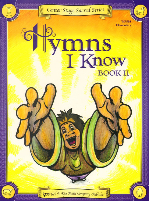 Center Stage Sacred Series - Hymns I Know, Book 2 for Big-Note Piano