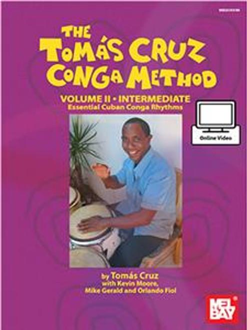 The Tomas Cruz Conga Method - Volume II - Intermediate with Online Video