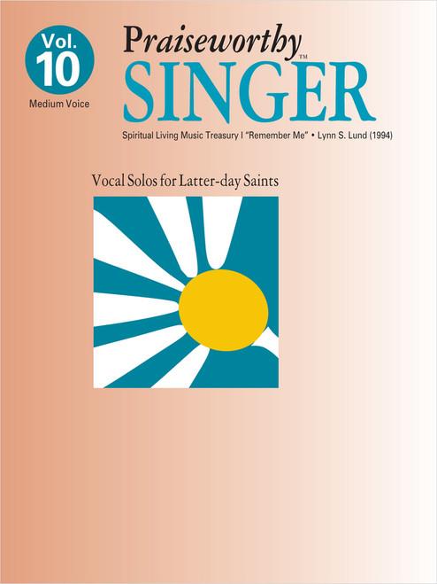 Praiseworth Singer Volume 10: •Spiritual Living Music Treasury I
