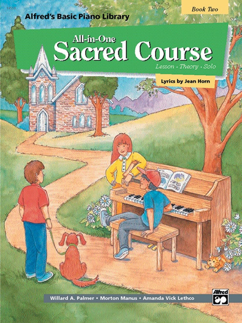 Alfred's Basic Piano Library: •All-in-One Sacred Course, Book 2