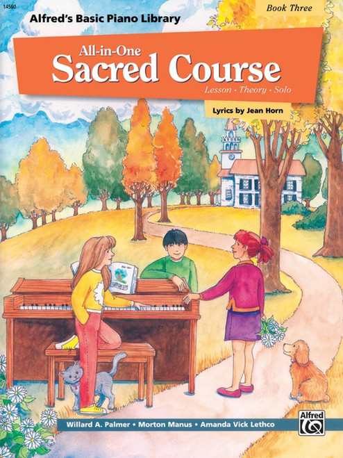 Alfred's Basic Piano Library: All-in-One Sacred Course, Book 3
