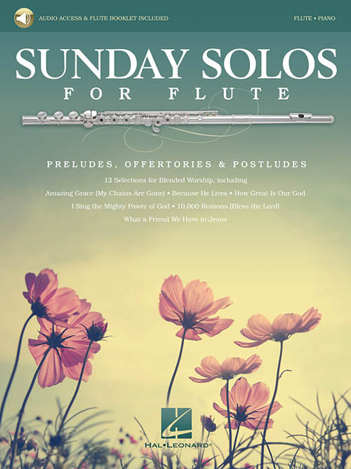 Sunday Solos for Flute (with Audio Access) for Flute & Piano