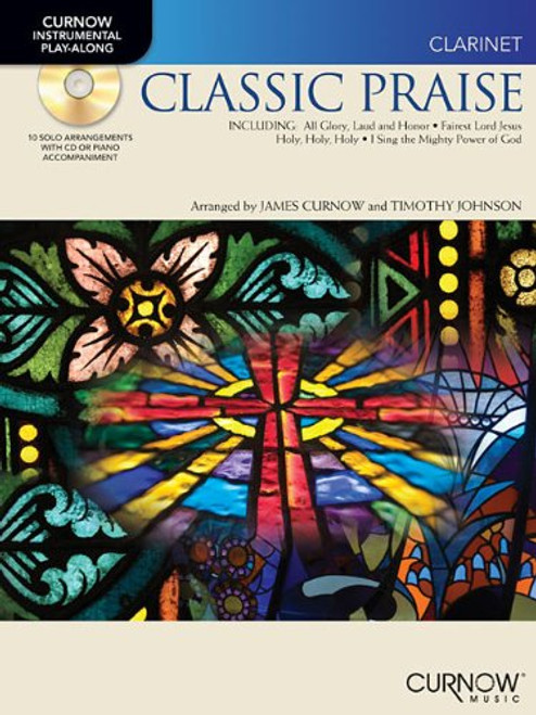 Curnow Instrumental Play-Along - Classic Praise (Book/CD Set) for Clarinet