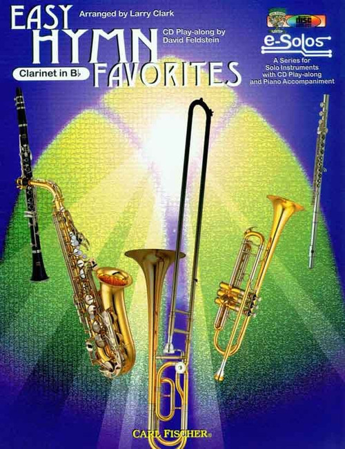 Easy Hymn Favorites (Book/CD Set) for Clarinet in B♭