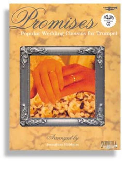 Promises: •Popular Wedding Classics for Trumpet (Book/CD Set)