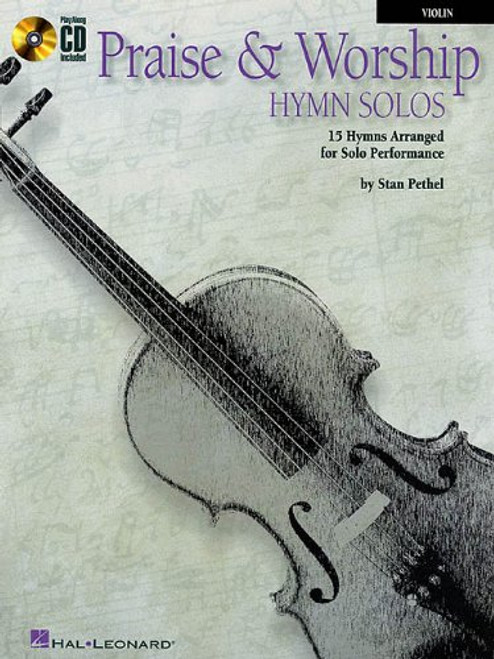 Praise & Worship Hymn Solos (Book/CD Set) for Violin