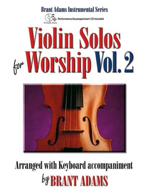 Violin Solos for Worship, Volume 2 (Book/CD Set) for Violin