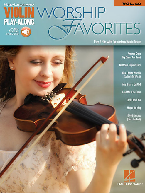 Hal Leonard Violin Play-Along, Volume 59 - Worship Favorites (with Audio Access)