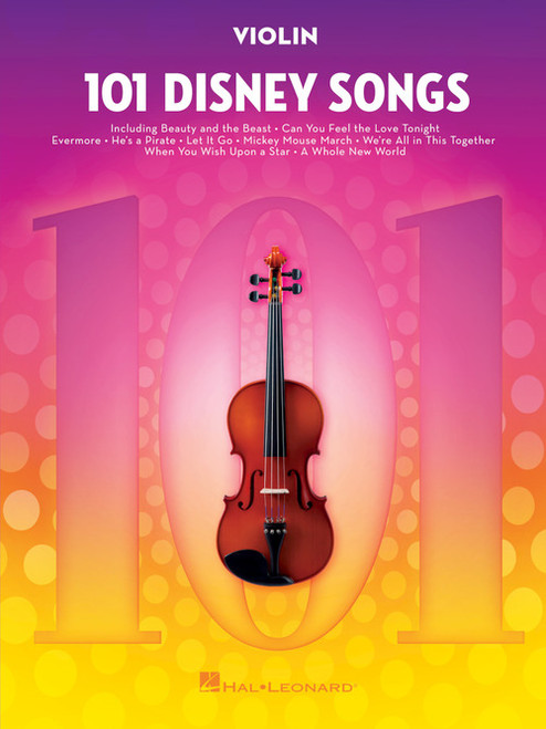 101 Disney Songs - Violin