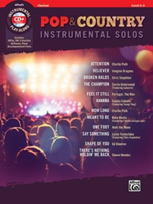 Pop & Country Instrumental Solos - Clarinet