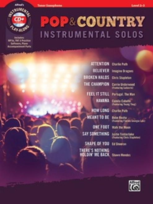 Pop & Country Instrumental Solos - Tenor Saxophone