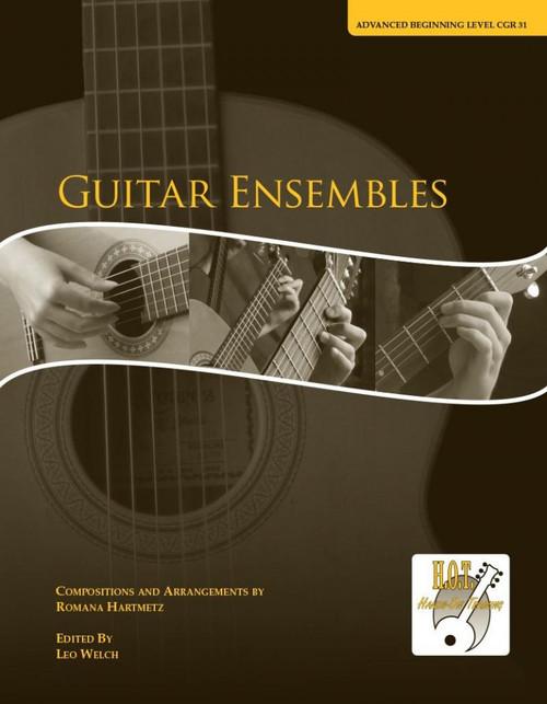 Class Guitar Resources Methods - Guitar Ensembles, Advanced Beginning Level (CGR 31) by Romana Hartmetz