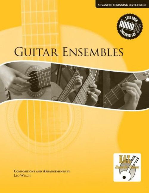 Class Guitar Resources Methods - Guitar Ensembles, Advanced Beginning Level (CGR 40) by Romana Hartmetz