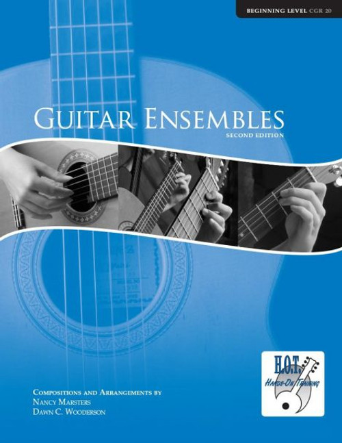 Class Guitar Resources Methods - Guitar Ensembles, Beginning Level (CGR 20) by Nancy Marsters & Dawn C. Wooderson