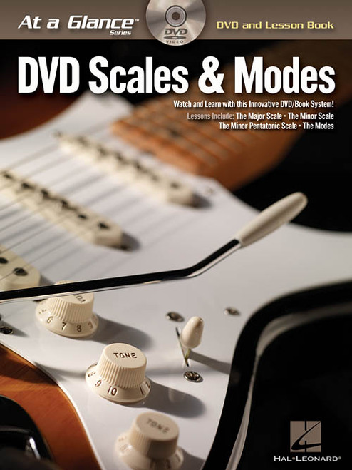 At a Glance Series - DVD Scales & Modes for Guitar (Book/DVD Set)