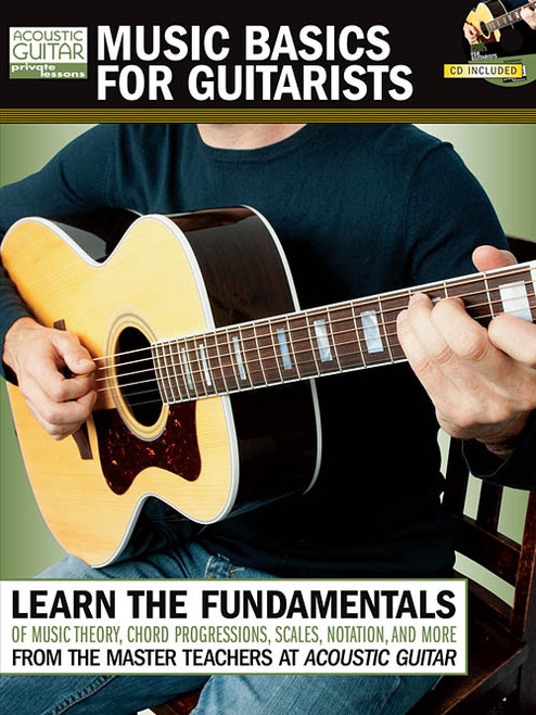 Acoustic Guitar Private Lessons: Music Basics for Guitarists (Book/CD Set)