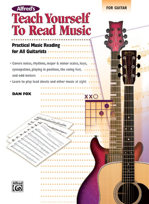 Alfred's Teach Yourself to Read Music for Guitar by Dan Fox