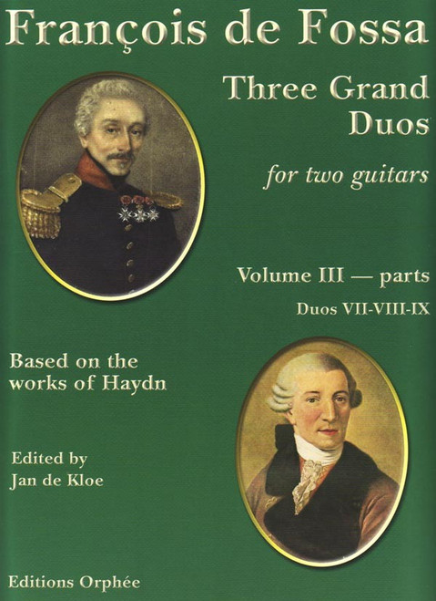 François de Fossa - Three Grand Duos for Two Guitars, Volume 3: Parts 3-4-5