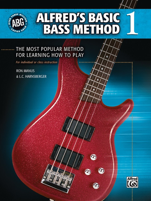 Alfred's Basic Bass Method, Book 1 by Ron Manus & L.C. Harnsberger