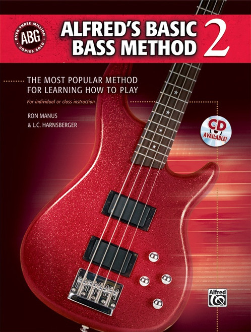 Alfred's Basic Bass Method, Book 2 (Book/CD Set) by Ron Manus & L.C. Harnsberger