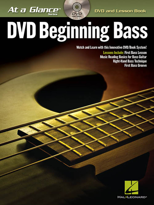 At a Glance Series - DVD Beginning Bass (Book/DVD Set)