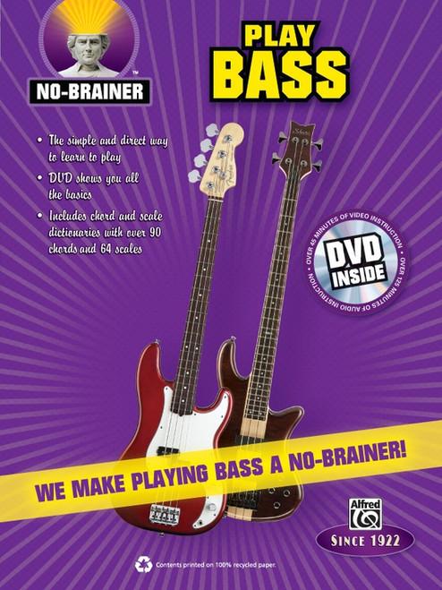 No-Brainer - Play Bass (Book/DVD Set)