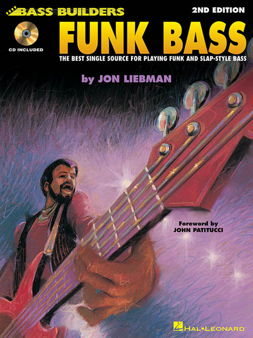Bass Builders - Funk Bass, 2nd Edition (with Audio Access) by Jon Liebman