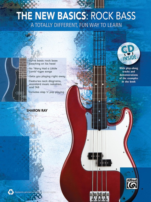 The New Basics: Rock Bass (Book/CD Set) by Sharon Ray