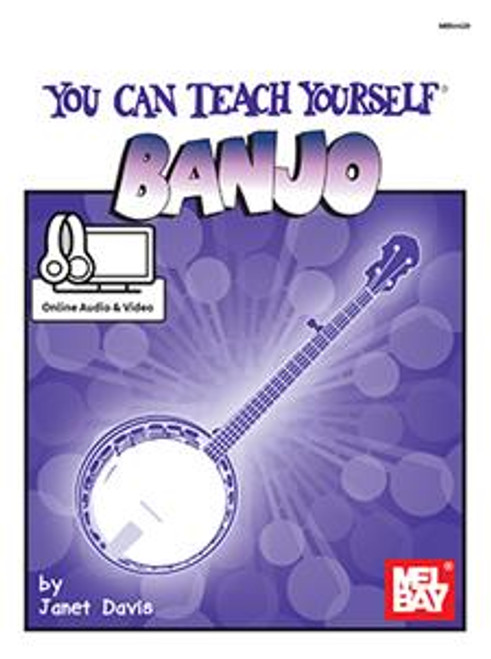 You Can Teach Yourself Banjo (with Online Audio & Video) by Janet Davis