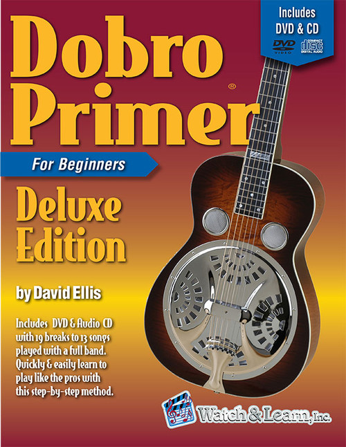 Dobro Primer for Beginners, Deluxe Edition (Book/DVD/CD/Online Audio Access Set) by David Ellis