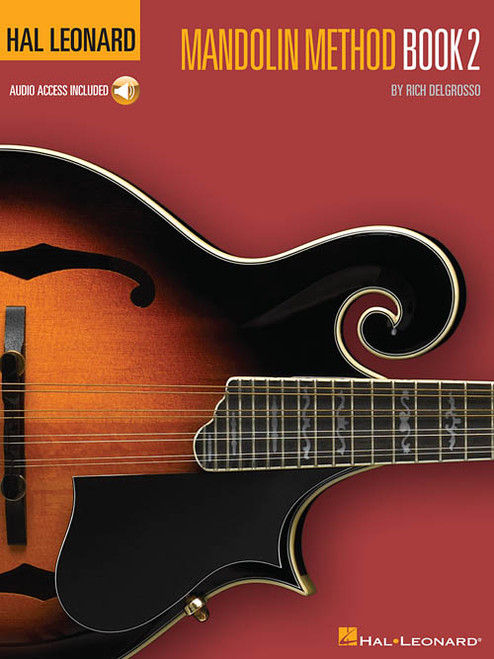 Hal Leonard Mandolin Method, Book 2, 2nd Edition (with Audio Access) by Rich Delgrosso