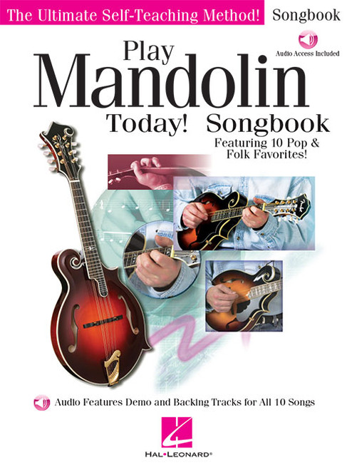 Play Mandolin Today! Songbook (with Audio Access)