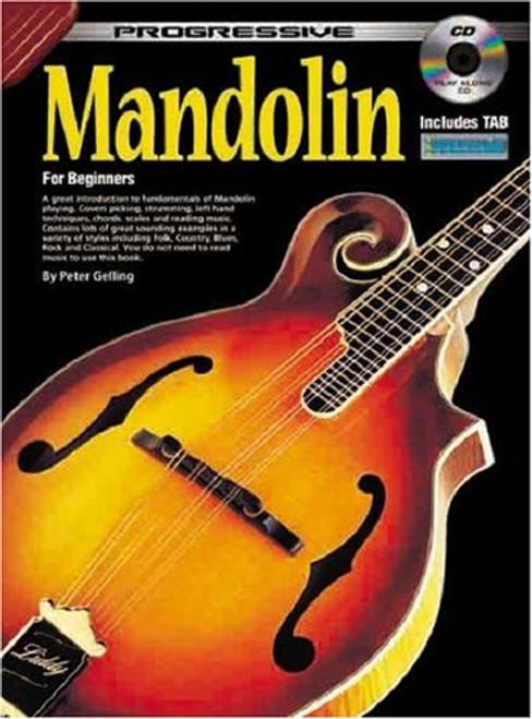 Progressive Mandolin for Beginners (Book/CD Set) by Peter Gelling