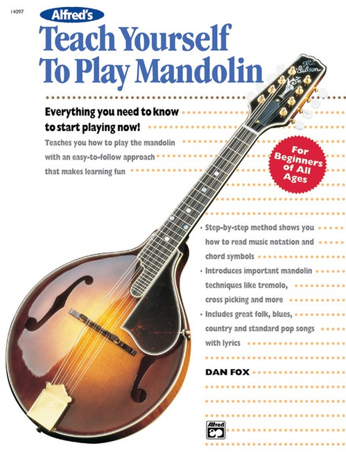 Teach Yourself to Play Mandolin by Dan Fox