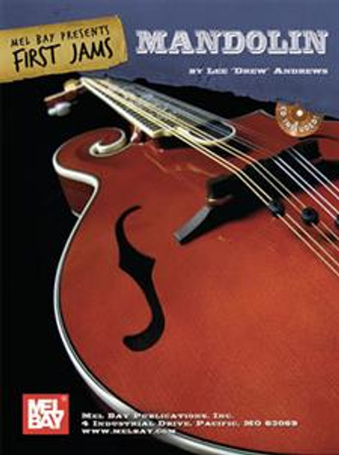 "First Jams: Mandolin (Book/CD Set) by Lee ""Drew"" Andrews"