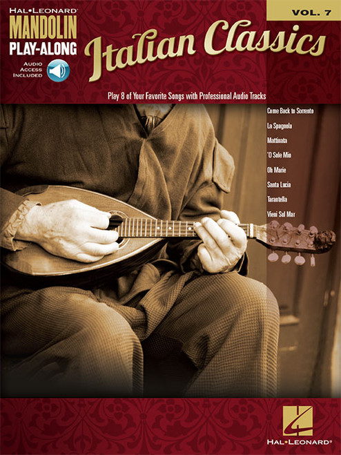 Italian Classics -- Hal Leonard Mandolin Play-Along Volume 7 (with Audio Access)