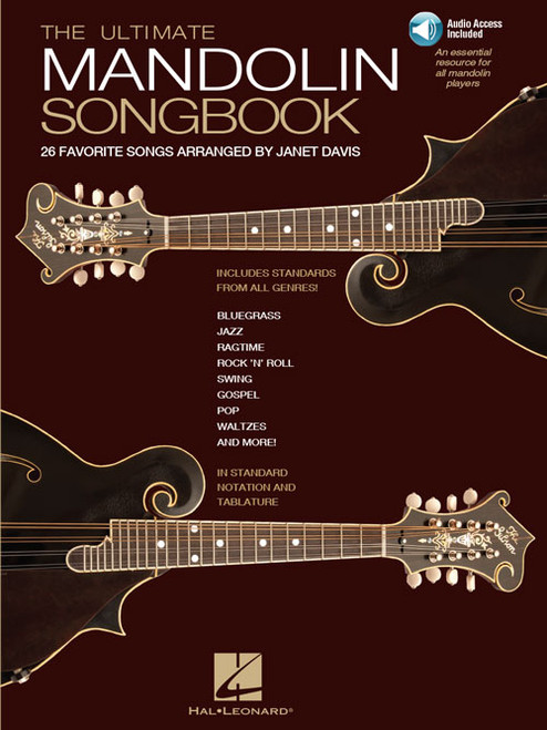 The Ultimate Mandolin Songbook (Book/CD Set) by Janet Davis